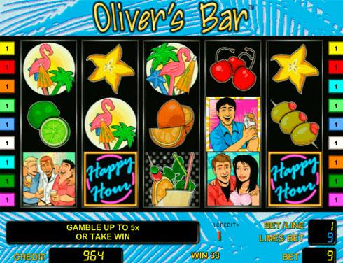 Игровой автомат Oliver`s Bar на деньги в казино Вулкан