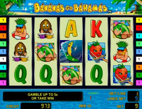 Клуб Вулкан: играть на игровом автомате Bananas Go Bahamas