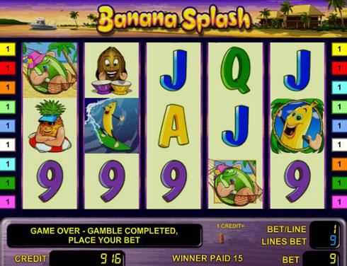 Вулкан игровые автоматы Banana Splash
